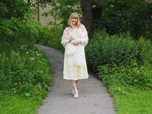 mohair wedding shawl